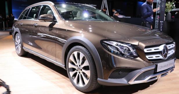 Mercedes Classe E All Terrain : une vraie rockstar