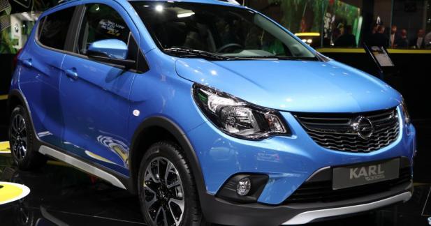 Opel Karl Rocks : nano-aventurière