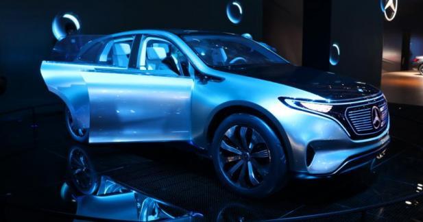 Mercedes Generation EQ : l'anti-Tesla Model X de Stuttgart se laisse entrevoir
