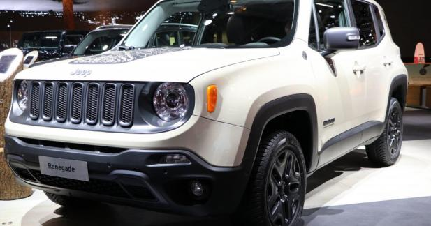Jeep Renegade Desert Hawk : tenue de G.I.