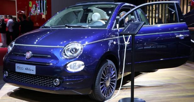 La Fiat 500 Riva jette l'ancre au Mondial