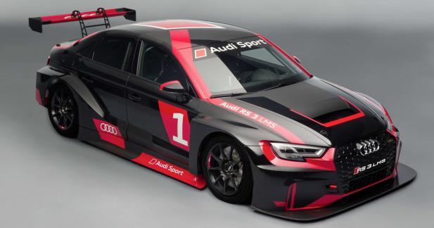 Audi RS3 LMS : un vrai bolide de course pour seulement 99 000 euros