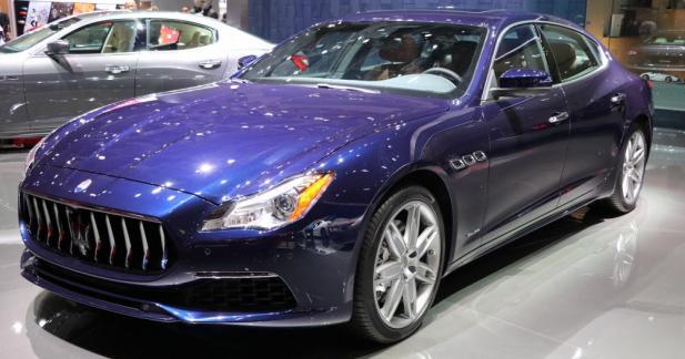 Maserati Quattroporte restylée : le trident revient à la charge