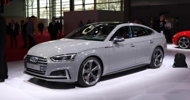 Audi A5 Sportback et S5 Sporback : les athlètes au régime