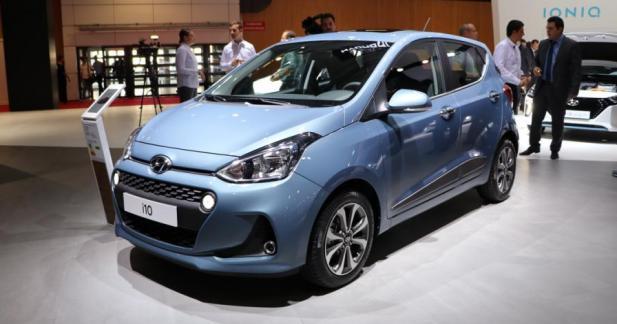 Hyundai i10 restylée : pour faire bonne figure