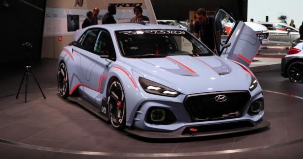 Hyundai RN30 Concept : le sport selon Hyundai