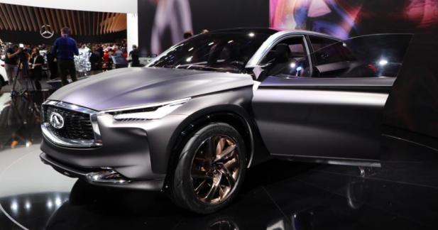 Infiniti QX Sport Inspiration : le futur QX50 se fait beau pour le Mondial