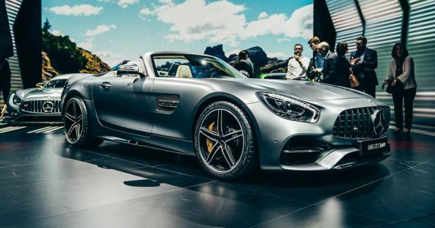 Mercedes-AMG GT C Roadster : décapotable ET méchante