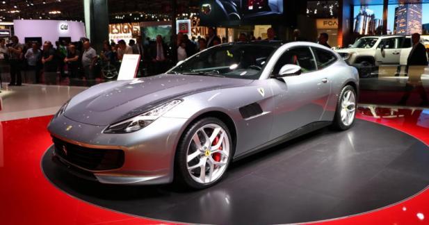 Ferrari GTC4Lusso T : cheval bridé