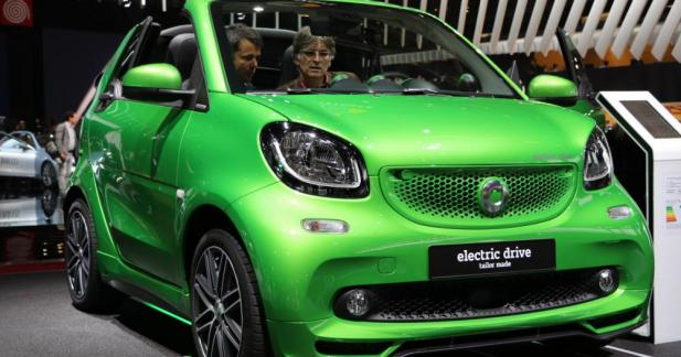 Smart ForTwo Electric Drive : on ne peut plus branchée