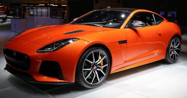 Jaguar F-Type SVR : le félin sort les griffes