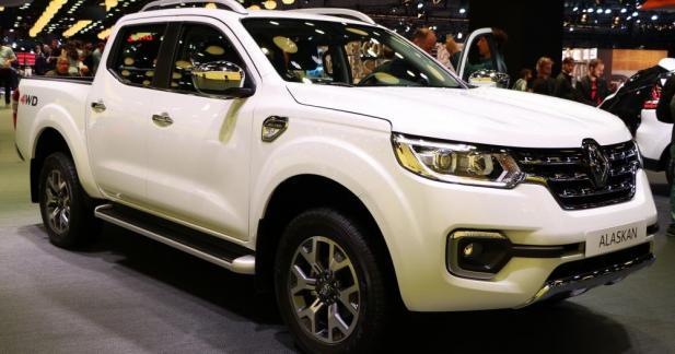 Renault Alaskan : une benne pour le losange