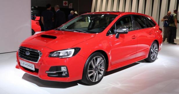 Subaru Levorg : une WRX pour les déménageurs