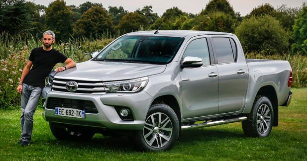 Essai Toyota Hilux: je suis une légende