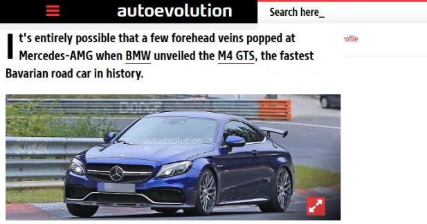 Mercedes-AMG prépare une C 63 R Coupé vraiment radicale