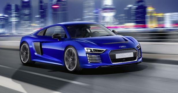 L'Audi R8 e-tron à 1 million d'euros part en retraite anticipée