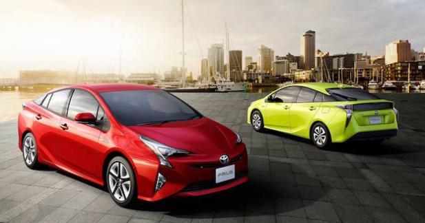 Toyota rappelle ses nouvelles Prius pour un problème de frein de stationnement