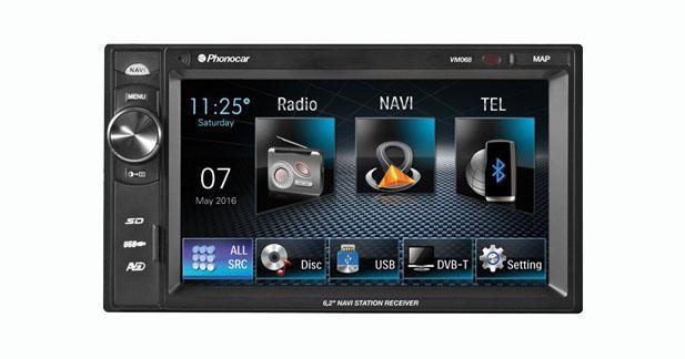 Phonocar présente un nouvel autoradio multimédia sans source mécanique