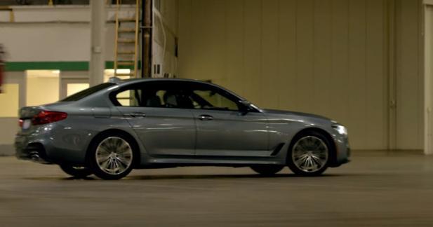 La nouvelle BMW Série 5 joue déjà les stars de cinéma