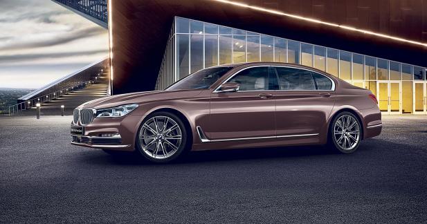 BMW lance au Japon une édition limitée de la Série 7... rose