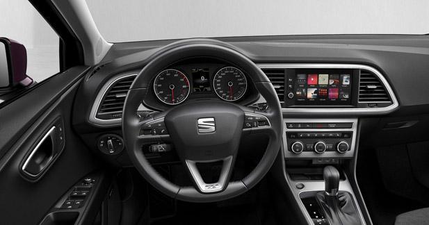 La nouvelle Leon bénéficie du CarPlay et d'Android Auto