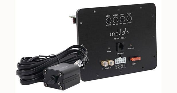 MD Lab propose une carte amplificatrice pour réaliser un caisson actif
