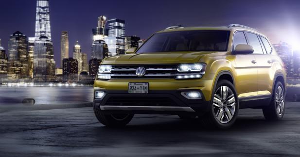 Volkswagen Atlas : un grand frère américain pour le Touareg