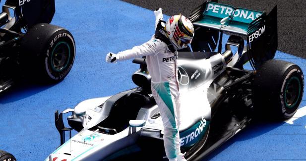 F1 : Lewis Hamilton s'impose au Mexique