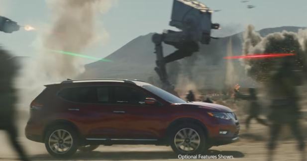 Le Nissan X-Trail débarque dans l'univers Star Wars