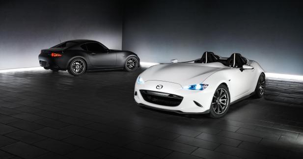 La Mazda MX-5 s'aiguise au SEMA Show avec deux concepts inédits
