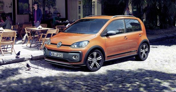 Volkswagen Cross Up restylée : le 3-cylindres turbo fait son entrée