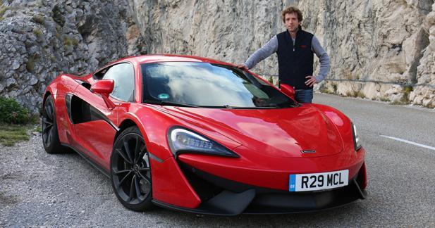 Essai McLaren 540C: la ''petite'', pour le meilleur!