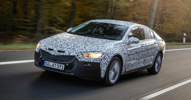 La future Opel Insignia se montre