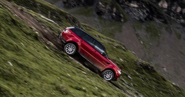 Le Range Rover Sport affronte le plus dangereux des toboggans