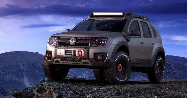 renault duster extreme et sandero rs grand prix deux. Black Bedroom Furniture Sets. Home Design Ideas