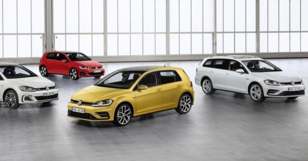 Volkswagen Golf restylée : tout est dans la technologie
