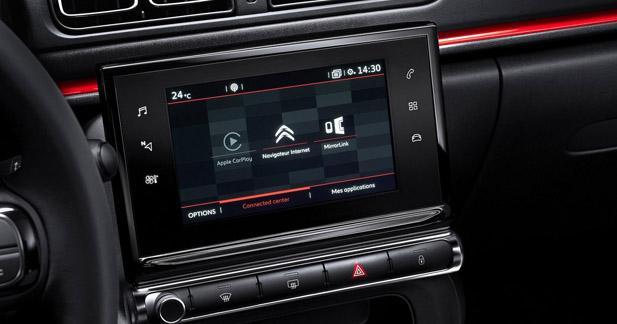 La nouvelle C3 intègre un système multimédia high-tech très innovant