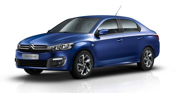 Citroën restyle la C-Élysée