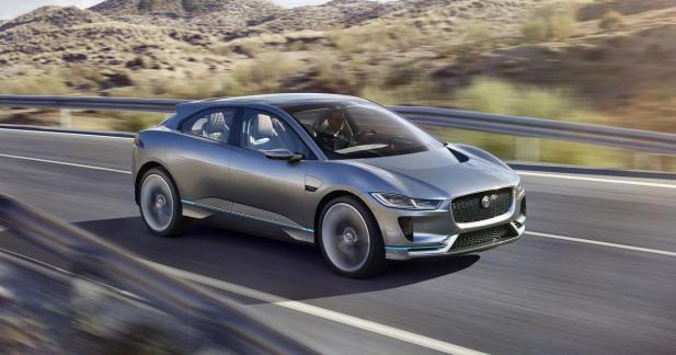 Jaguar I-Pace : 400 ch et 500 km d'autonomie pour le SUV électrique