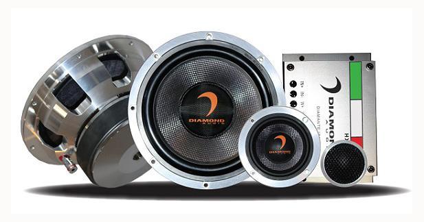 Diamond Audio présentait un nouveau kit 3 voies au Sema Show de Las Vegas