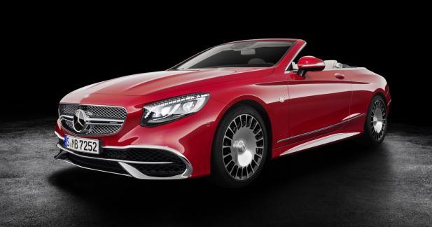 Mercedes-Maybach S 650 Cabriolet : la brute s'habille en Prada