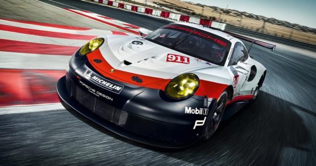 Porsche 911 RSR 2017 : une 911 à moteur central pour les 24 Heures du Mans