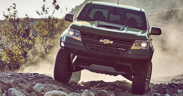 Chevrolet Colorado ZR2 : le pick-up à la technologie de Formule 1
