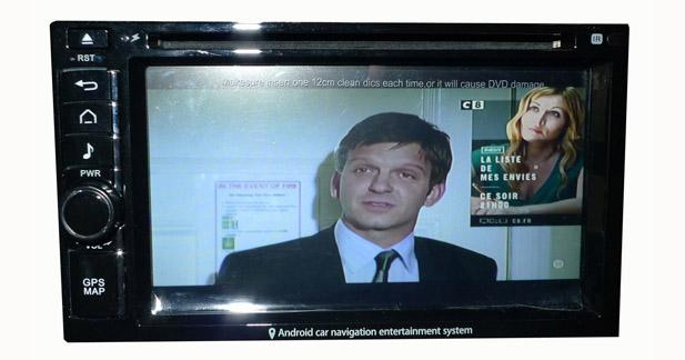 Le DVB-T2100HD assure une excellente qualité de réception