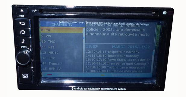 Les fonctions TNT sont complètes et faciles d'utilisation