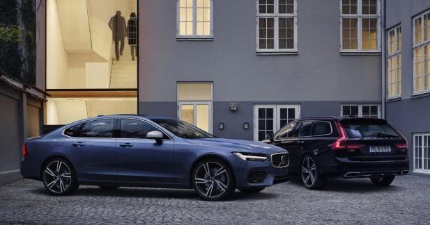 Les Volvo S90 et V90 accueille un petit Diesel D3