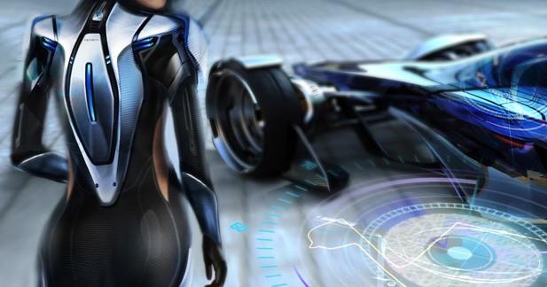 Infiniti Sypnatic: un véhicule de compétition 3 en 1