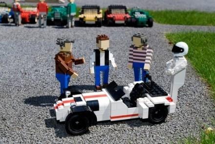 Insolite : et maintenant Top Gear casse des briques...