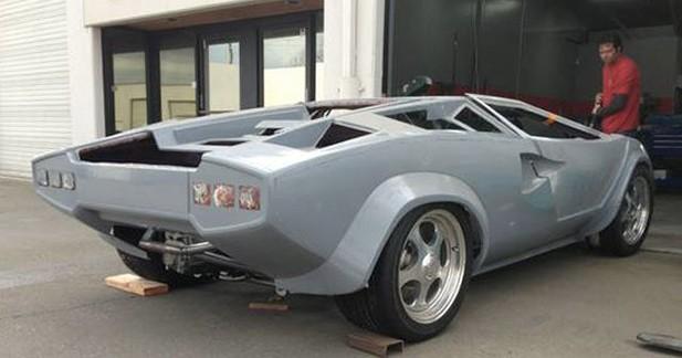 Une Lamborghini Countach neuve pour 24.000$