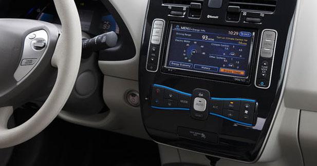 La Nissan Leaf va rendre la conduite encore plus connectée